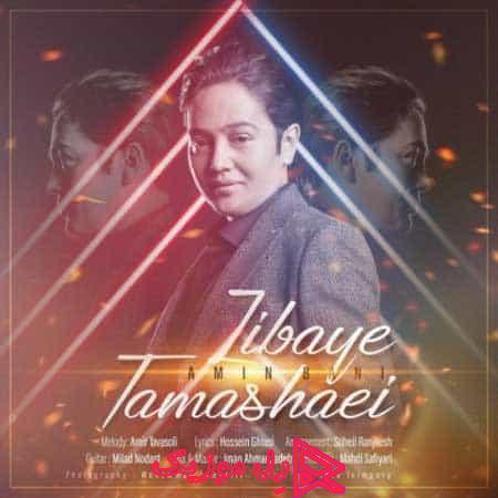 Amin Bani Zibaye Tamashaei rellmusic - دانلود آهنگ امین بانی زیبای تماشایی